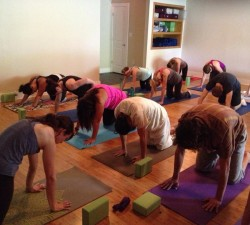 Good Karma Yoga Class Photo