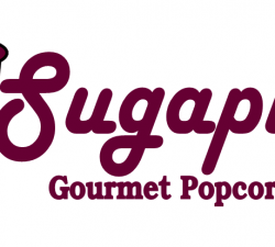 Sugaplums Popcorn Logo