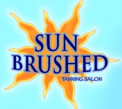 Sun Brushed Tanning Salon Logo