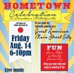 Hometown Celebration 2015 Poster