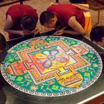 Tibetan Monks Image