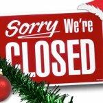 Christmas Closing Image