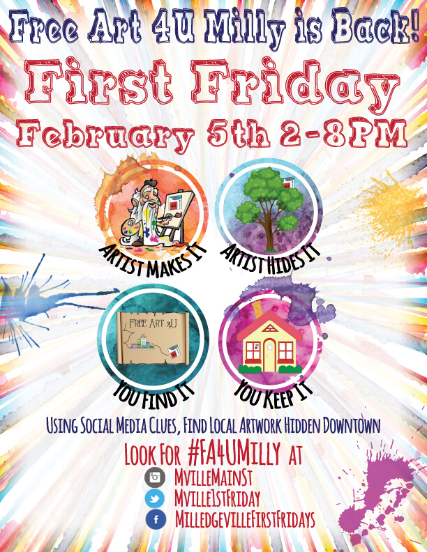 February First Friday: Free Art 4 U