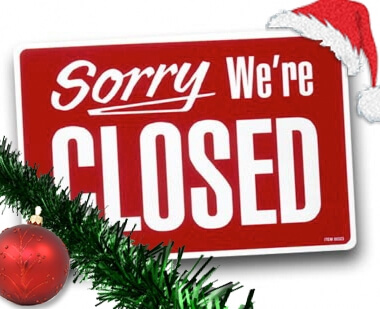 closed-christmas