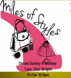 Miles of Styles Logo Image