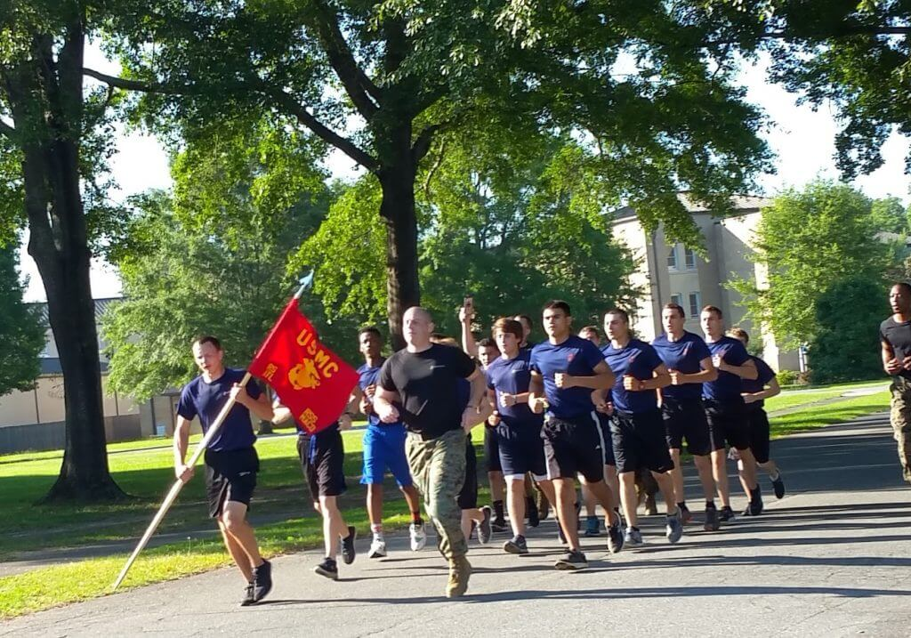 Marines Running Image