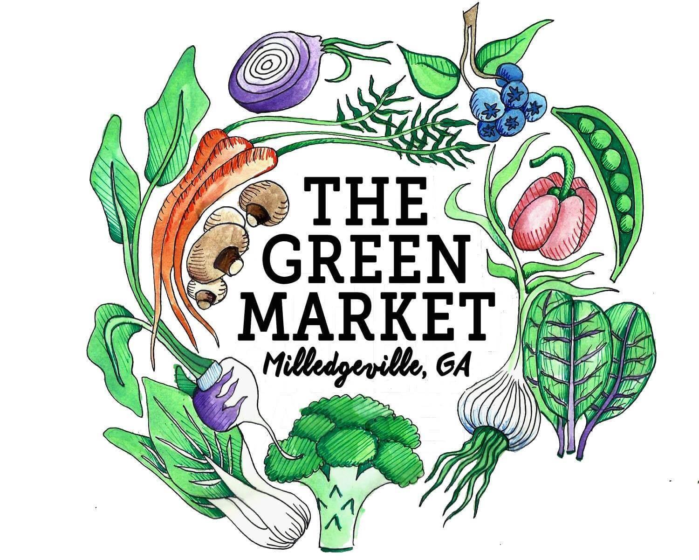 Green Market Logo Image