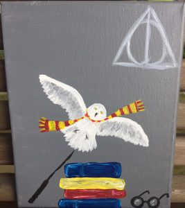 Harry Potter Painting Linked Image