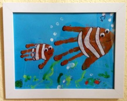 Finding Nemo Hanprint Painting Image