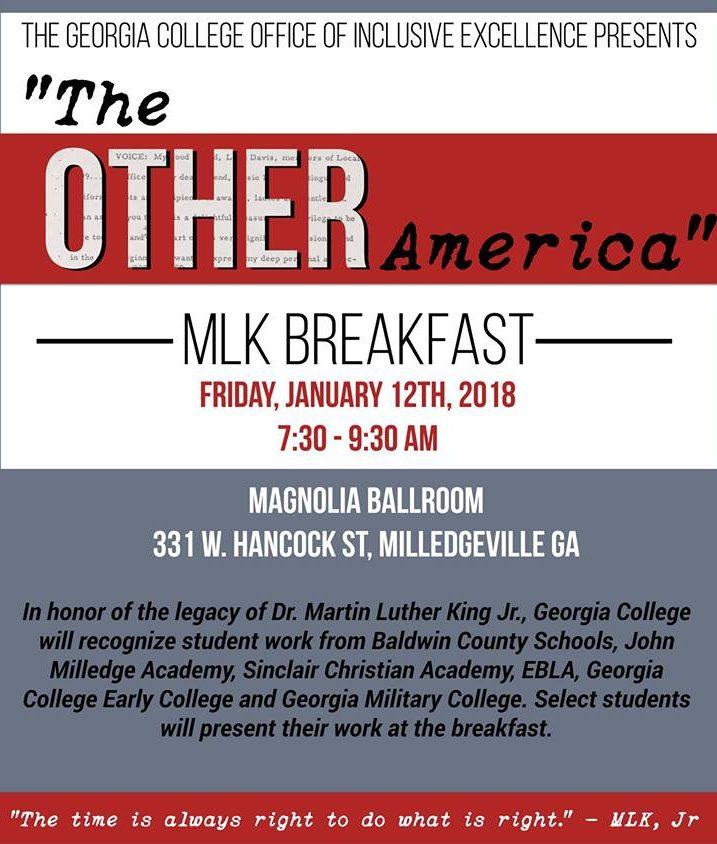 MLK Breakfast Poster Image