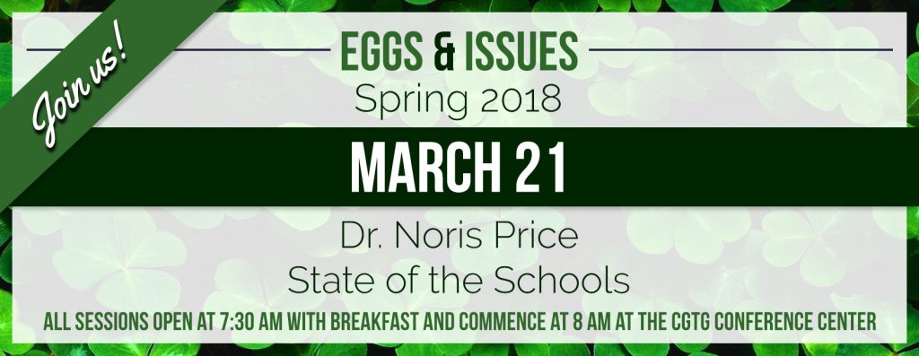 March 2018 Eggs & Issues Image