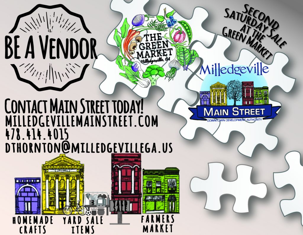 Be A Second Saturday Vendor Linked Image