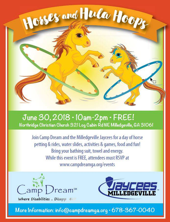 Horses & Hula Hoops Event Linked Image