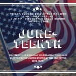 Juneteenth Lecture & Tour Linked Image